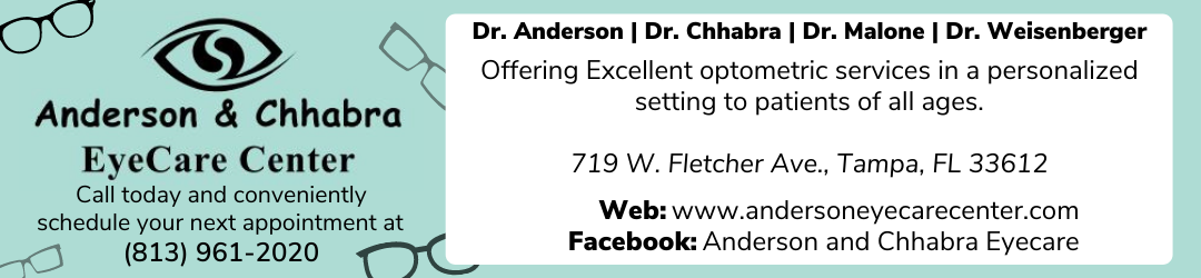Anderson & Chhabra Eye Care Center Offering Excellent optometric services in a personalized setting