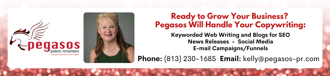 Pegasos PR will handle your copywriting