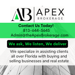 We specialize in assisting clients all over Florida with buying and selling businesses and real estate