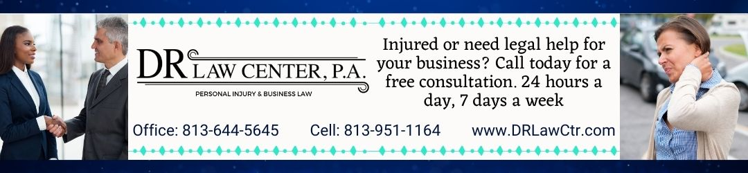 A Tampa Bay Area Law Firm which Specializes in Personal Injury, Business & Contract Law, Commercial Services